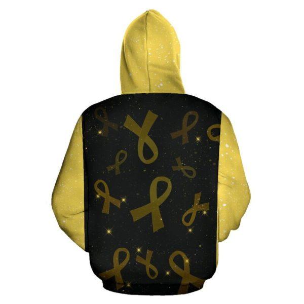 Childhood Cancer Faith Hope love Full Hoodie 350863