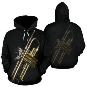 Trumpet Photo Corner Full Hoodie 350626
