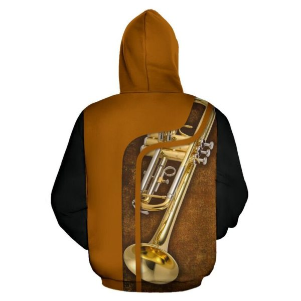 I DON'T PLAY TO WIN - TRUMPET FULL HOODIE 349433