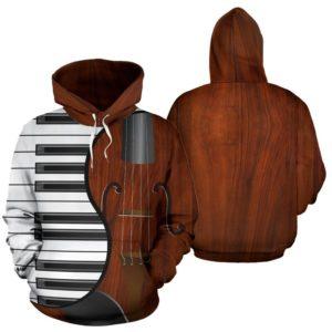 piano violin ying yang full hoodie 347948
