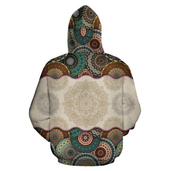 Dachshund Dog - Vintage Mandala Full Hoodie SKY KD@ animallovepro DYTFY@hoodies 344576