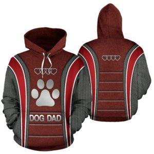 Dog Dad AD Heart Full Hoodie SKY KD@ animallovepro do7dad7kd@hoodies 342649