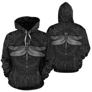 dragonfly mandala dreamcatcher full hoodie LQT@ animallovepro DFGR@hoodies 342259