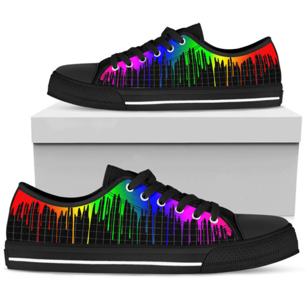 Dripping rainbow@ silveryprint 08062020042cle1ti02la01ch01sho1lgt5248@low-top 338512