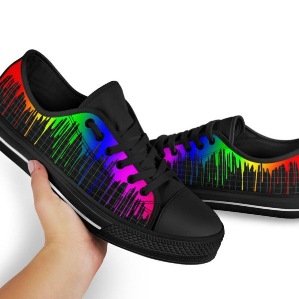 Dripping rainbow@ silveryprint 08062020042cle1ti02la01ch01sho1lgt5248@low-top 338509