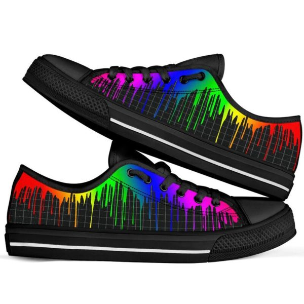 Dripping rainbow@ silveryprint 08062020042cle1ti02la01ch01sho1lgt5248@low-top 338508