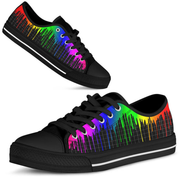 Dripping rainbow@ silveryprint 08062020042cle1ti02la01ch01sho1lgt5248@low-top 338507