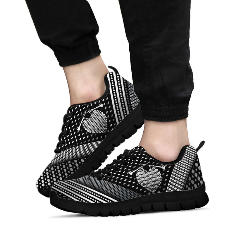 Knitting sneakers@ silveryprint 06052020009cle1ti02ng01tr01sho1knt5077@sneakers 333691