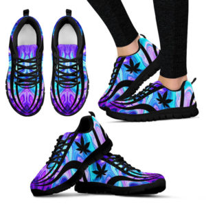 Blue and purple sneakers@ silveryprint tr01sho1wed5397@sneakers 327955