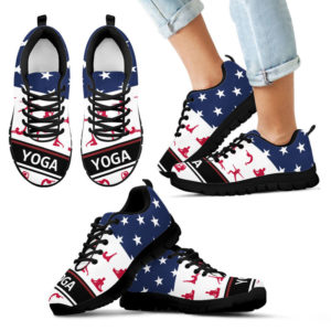Yoga American flag sneakers@ silveryprint 08052020009cle1th06vu01tr01sho1yog5114@sneakers 325058