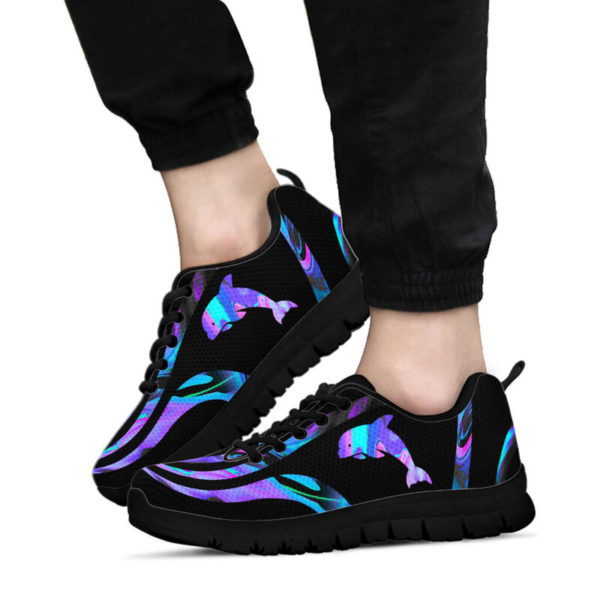 Dolphin@ silveryprint th01sho1dpn5011@sneakers 323172