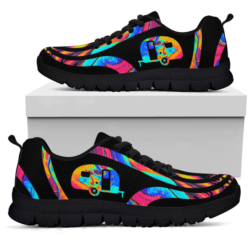 Colorful camping sneakers@ silveryprint 25042020030cle1th06hg01tr01sho1cmp5497@sneakers 322543