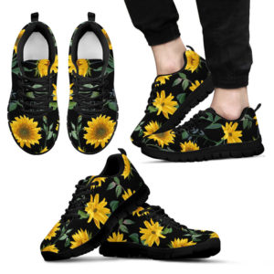 Sunflower shoes@ silveryprint tr01sho1sfl5205@sneakers 320581