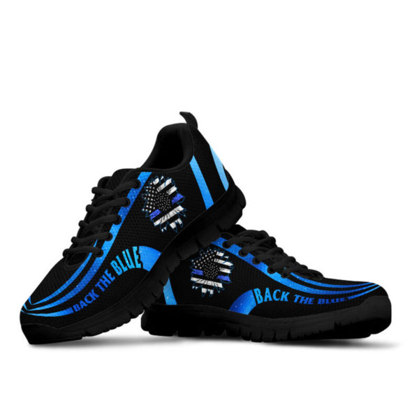 Back the blue@ silveryprint 15062020065cle1th06ng01th01sho1plc5211@sneakers 313599