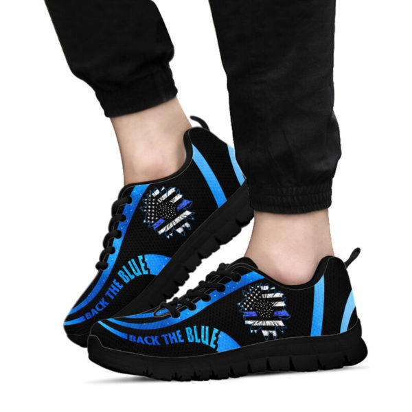 Back the blue@ silveryprint 15062020065cle1th06ng01th01sho1plc5211@sneakers 313596
