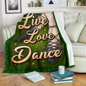 IRISH DANCE- LIVE LOVE PRE BLANKET@_springlifepro_IRISH22b323@premium-blanket Irish Dance- Live Love Pre Blanket Fleece Blanket, Personalized Gifts, Custom Blanket 602380