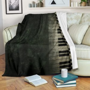 piano key dirty blanket@_springlifepro_pian64765787@premium-blanket Piano Key Dirty Blanket Fleece Blanket, Personalized Gifts, Custom Blanket 601743