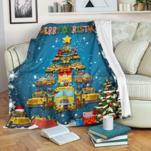 Bus Driver Blanket@_rockinbee_bus_driver_blanket_1610@premium-blanket Bus Driver Blanket Fleece Blanket, Personalized Gifts, Custom Blanket 600339