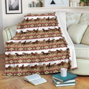 HORSE FABRIC PATTERNS BLANKET@_animalaholic_horsefra76733@premium-blanket Horse Fabric Patterns Blanket Fleece Blanket, Personalized Gifts, Custom Blanket 597103