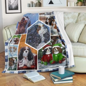 All About Cavalier King Charles Spaniel@_shoesnp_th_32_all_about_cavalier_king_charles_spaniel@premium-blanket All About Cavalier King Charles Spaniel Fleece Blanket, Personalized Gifts, Custom Blanket 596653