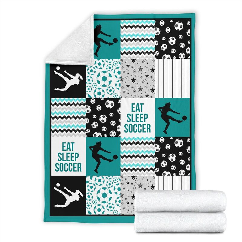 soccer shape pattern blanket LQT@_summerlifepro_socc493ieit@premium-blanket Soccer Shape Pattern Blanket Lqt Fleece Blanket, Personalized Gifts, Custom Blanket 596054