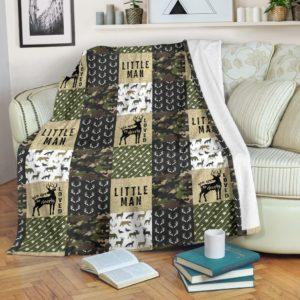 Deer loved pattern blanket LQT@_animallovepro_Deer7879@premium-blanket Deer Loved Pattern Blanket Lqt Fleece Blanket, Personalized Gifts, Custom Blanket 594188