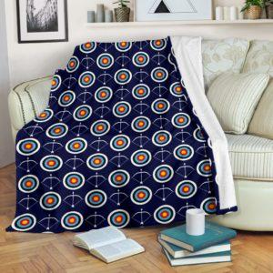 Archery - Target Arrow Archery Blanket@_summerlifepro_FHGJGH@premium-blanket Archery - Target Arrow Archery Blanket Fleece Blanket, Personalized Gifts, Custom Blanket 593810