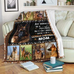 German Shepherd Mom Blanket@_shoesnp_Mn_6_German_Shepherd_Mom_Blanket@premium-blanket German Shepherd Mom Blanket Fleece Blanket, Personalized Gifts, Custom Blanket 593797
