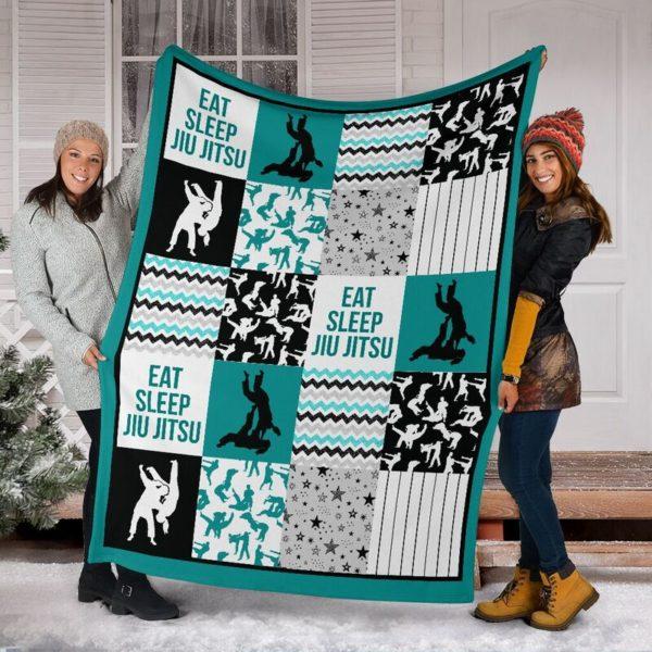 jiu jitsu shape pattern blanket LQT@_summerlifepro_jifi99i3003@premium-blanket Jiu Jitsu Shape Pattern Blanket Lqt Fleece Blanket, Personalized Gifts, Custom Blanket 593712