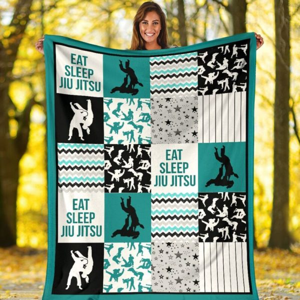 jiu jitsu shape pattern blanket LQT@_summerlifepro_jifi99i3003@premium-blanket Jiu Jitsu Shape Pattern Blanket Lqt Fleece Blanket, Personalized Gifts, Custom Blanket 593711