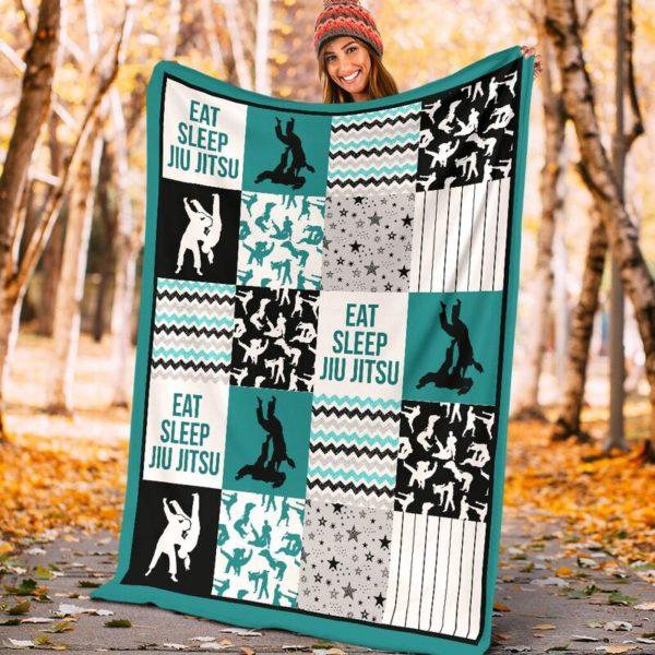 jiu jitsu shape pattern blanket LQT@_summerlifepro_jifi99i3003@premium-blanket Jiu Jitsu Shape Pattern Blanket Lqt Fleece Blanket, Personalized Gifts, Custom Blanket 593710