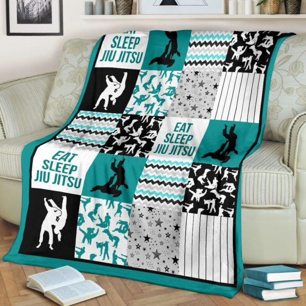 jiu jitsu shape pattern blanket LQT@_summerlifepro_jifi99i3003@premium-blanket Jiu Jitsu Shape Pattern Blanket Lqt Fleece Blanket, Personalized Gifts, Custom Blanket 593708