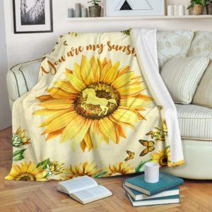 horse sunflower butterfly watercolor blanket_TTA@_animallovepro_horse3eywryw734@premium-blanket Horse Sunflower Butterfly Watercolor Blanket_Tta Fleece Blanket, Personalized Gifts, Custom Blanket 593524