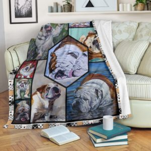 All About Bulldog@_shoesnp_th_32_all_about_bulldog@premium-blanket All About Bulldog Fleece Blanket, Personalized Gifts, Custom Blanket 593511