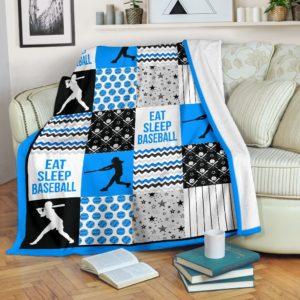 baseball shape pattern blanket LQT blue@_summerlifepro_basu249@premium-blanket Baseball Shape Pattern Blanket Lqt Blue Fleece Blanket, Personalized Gifts, Custom Blanket 593395