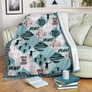 Archery - Pattern Cross X Blanket - SR@_summerlifepro_gh76869@premium-blanket Archery - Pattern Cross X Blanket - Sr Fleece Blanket, Personalized Gifts, Custom Blanket 592251