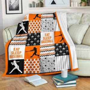 baseball shape pattern blanket LQT orange@_summerlifepro_base8378389@premium-blanket Baseball Shape Pattern Blanket Lqt Orange Fleece Blanket, Personalized Gifts, Custom Blanket 591667