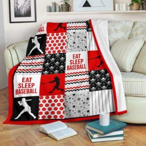 baseball shape pattern blanket LQT red@_summerlifepro_base72678748@premium-blanket Baseball Shape Pattern Blanket Lqt Red Fleece Blanket, Personalized Gifts, Custom Blanket 591576
