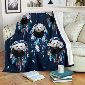 Panda dream catcher blanket@_shoesnp_dt_3_Panda_dream_catcher_blanket@premium-blanket Panda Dream Catcher Blanket Fleece Blanket, Personalized Gifts, Custom Blanket 589830