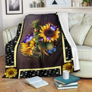 Butterfly sunshine blanket@_shoesnp_dt_Butterfly_sunshine_blanket@premium-blanket Butterfly Sunshine Blanket Fleece Blanket, Personalized Gifts, Custom Blanket 589167