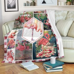All About Flamingo@_shoesnp_th_32_all_about_flamingo@premium-blanket All About Flamingo Fleece Blanket, Personalized Gifts, Custom Blanket 589115
