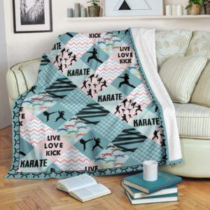 Karate - Pattern Cross X Blanket - SR@_summerlifepro_pqorusbtreys557@premium-blanket Karate - Pattern Cross X Blanket - Sr Fleece Blanket, Personalized Gifts, Custom Blanket 588829