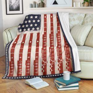 American Flag patriotic Flute Blanket@_proudteaching_patriotic4545Flute@premium-blanket American Flag Patriotic Flute Blanket Fleece Blanket, Personalized Gifts, Custom Blanket 588329