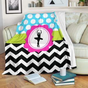 dance zic zac blanket@_proudteaching_dance787348934@premium-blanket Dance Zic Zac Blanket Fleece Blanket, Personalized Gifts, Custom Blanket 587953