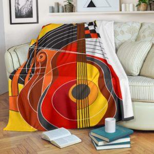 Guitar Conspiracy Blanket@_proudteaching_guitarcon476@premium-blanket Guitar Conspiracy Blanket Fleece Blanket, Personalized Gifts, Custom Blanket 587657