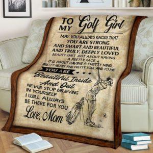 Golf To My Blanket@_proudteaching_dfdg@premium-blanket Golf To My Blanket Fleece Blanket, Personalized Gifts, Custom Blanket 587148