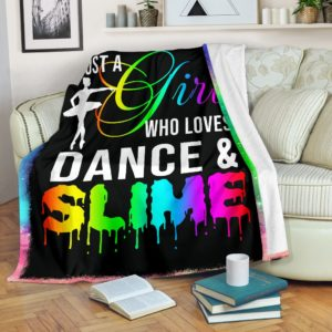 Dance Slime Blanket@_proudteaching_sfsdg@premium-blanket Dance Slime Blanket Fleece Blanket, Personalized Gifts, Custom Blanket 587034