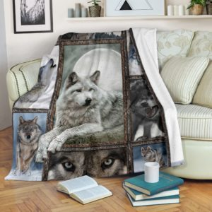 Wolves Amazing Blanket@_merchnera_wolves_blanket@premium-blanket Wolves Amazing Blanket Fleece Blanket, Personalized Gifts, Custom Blanket 586268