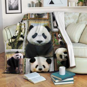 PANDA 3D BLANKET@_merchnera_panda_blanket@premium-blanket Panda 3D Blanket Fleece Blanket, Personalized Gifts, Custom Blanket 586203