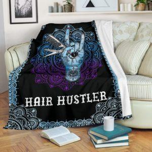 Hair Hustler Blanket@_shoppingmylife_sfffgfggg@premium-blanket Hair Hustler Blanket Fleece Blanket, Personalized Gifts, Custom Blanket 585877